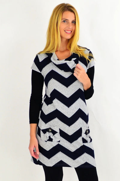 Zig Zag Tunic Top by Caroline Morgan | I Love Tunics | Tunic Tops | Tunic | Tunic Dresses  | womens clothing online