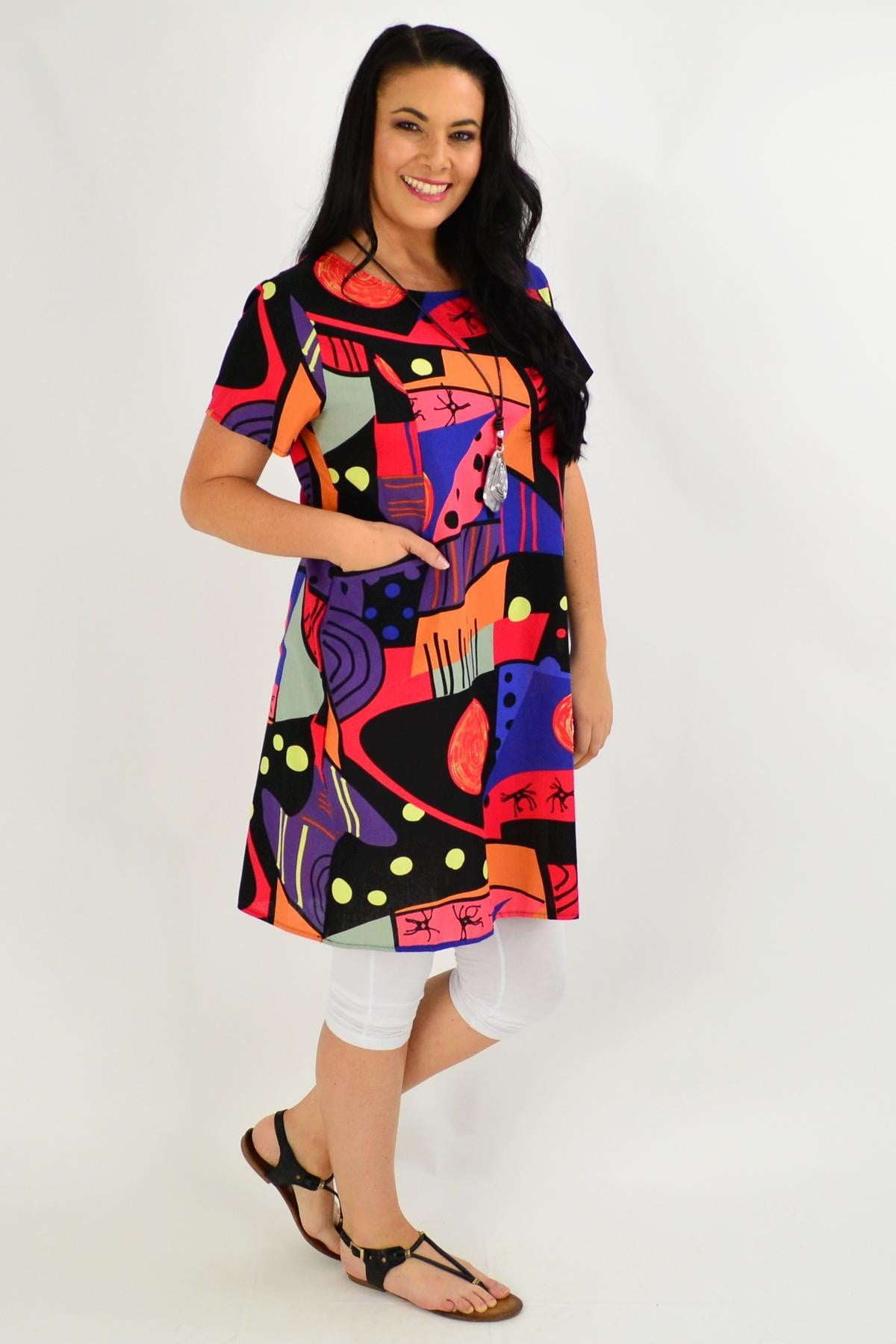 Picasso Shift Tunic Dress | I Love Tunics | Tunic Tops | Tunic | Tunic Dresses  | womens clothing online