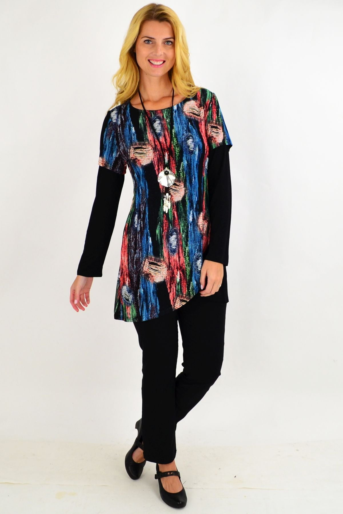 Lilia Asymmetrical Tunic Top | I Love Tunics | Tunic Tops | Tunic | Tunic Dresses  | womens clothing online