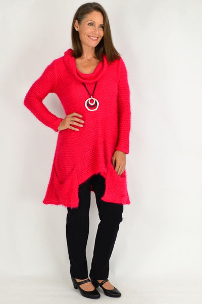 Pink Katherine Winter Tunic Top