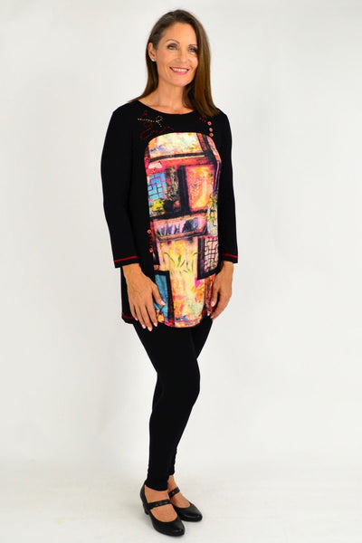 Oriental House Long Sleeve Tunic