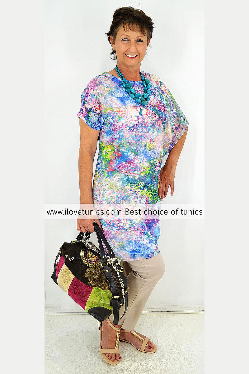Spotted Garden Tunic | I Love Tunics | Tunic Tops | Tunic | Tunic Dresses  | womens clothing online