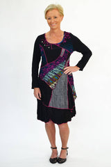 Purple Patch Tunic | I Love Tunics | Tunic Tops | Tunic | Tunic Dresses  | womens clothing online