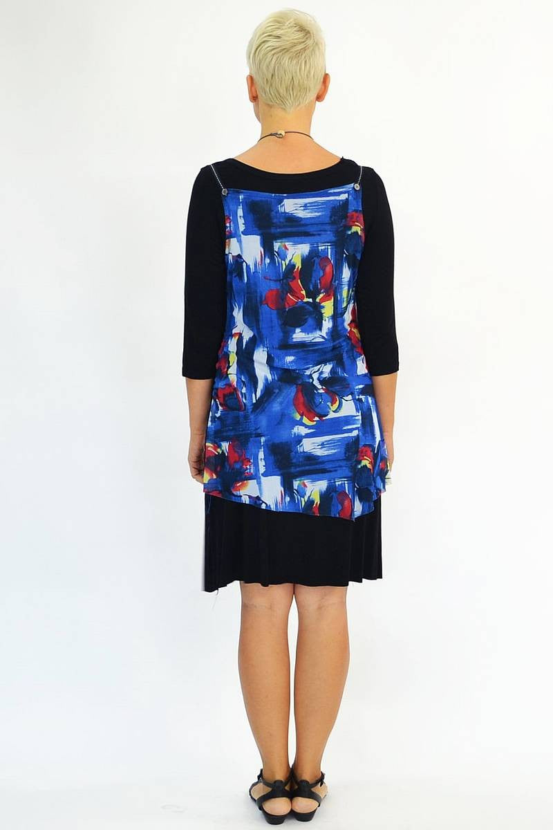 Blue Red Floral Tunic | I Love Tunics | Tunic Tops | Tunic | Tunic Dresses  | womens clothing online