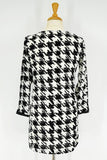 Black White Checked Tunics - I Love Tunics @ www.ilovetunics.com