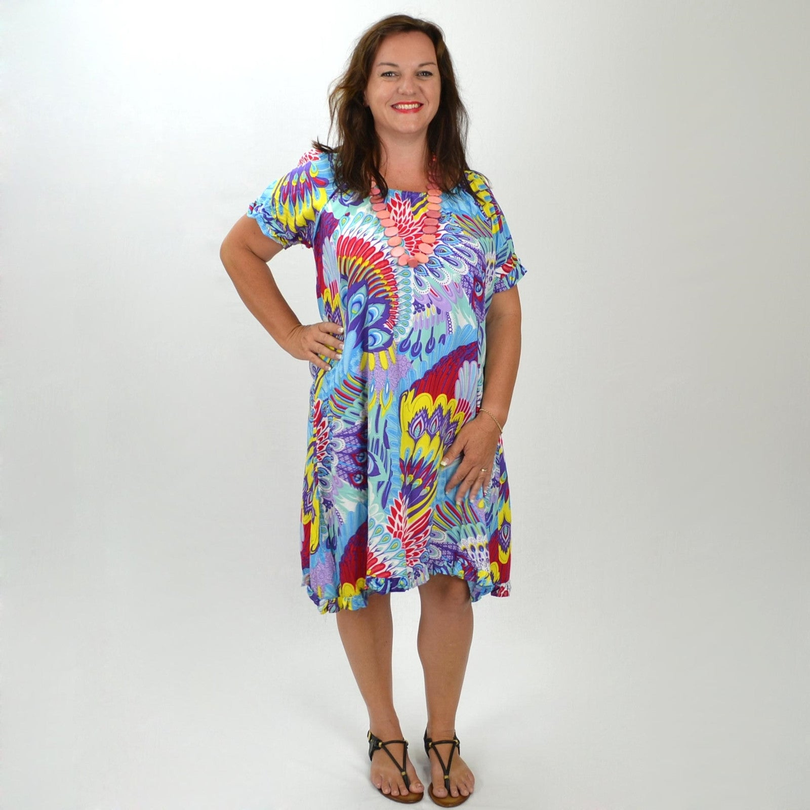 Shambala Birds Tunic - at I Love Tunics @ www.ilovetunics.com = Number One! Tunics Destination