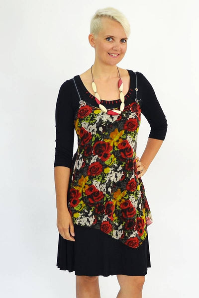 Long Rose Tunic - I Love Tunics @ www.ilovetunics.com