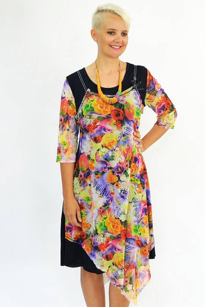 Floral Pattern Long Tunic