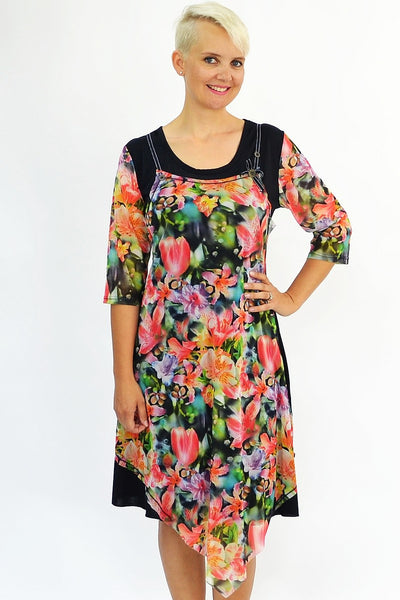 Shirley's Garden of Flowers Tunic