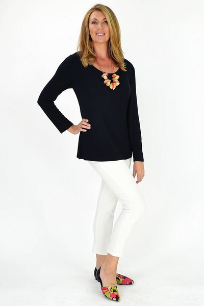 Black Sleeve Basic - at I Love Tunics @ www.ilovetunics.com = Number One! Tunics Destination