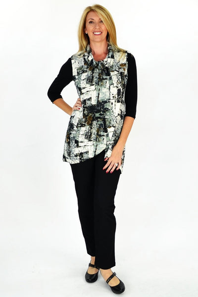 Abstract Mia Tunic