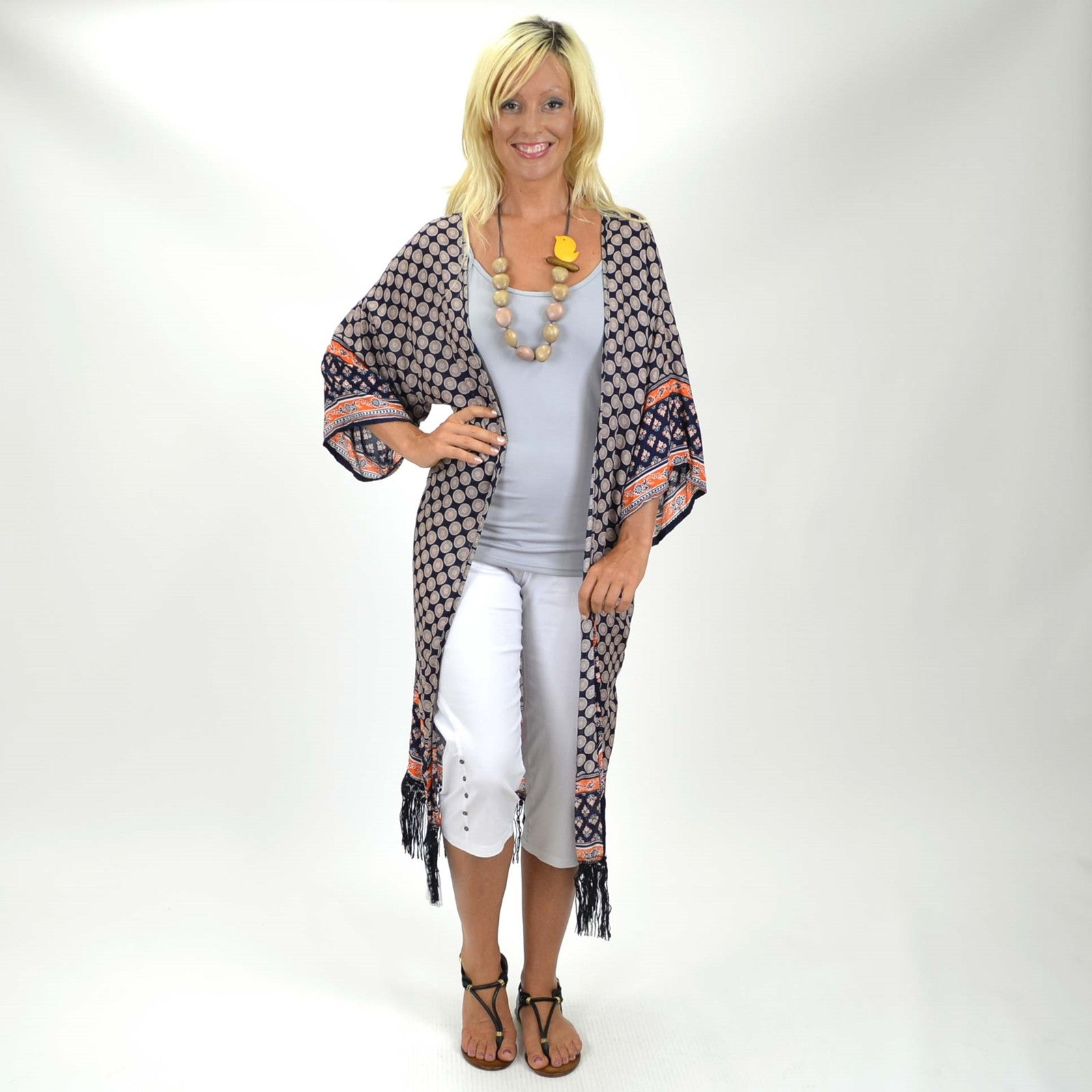 Raj Relaxed Jacket - at I Love Tunics @ www.ilovetunics.com = Number One! Tunics Destination