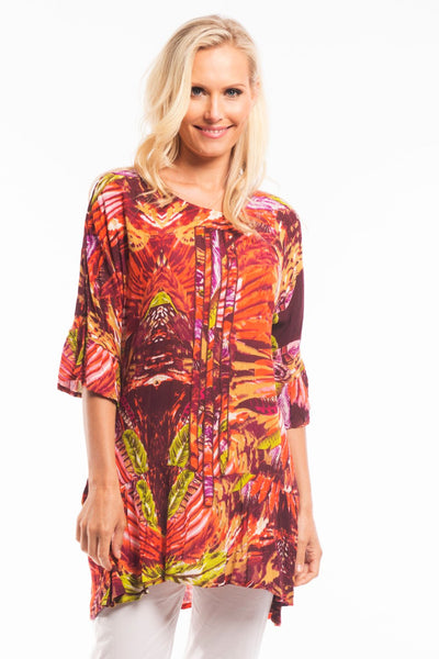 Orange Renee Tunic | I Love Tunics | Tunic Tops | Tunic | Tunic Dresses  | womens clothing online