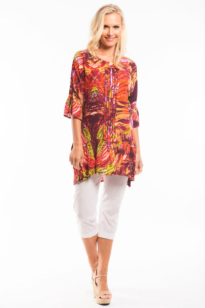 Orange Renee Tunic