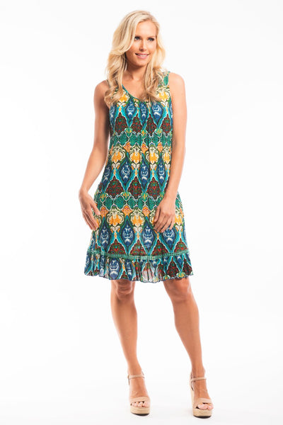 Marrakesh Sleeveless Tunic Dress