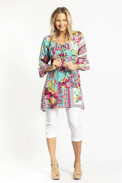 Bora Bora Dwij Tunic Top Blouse