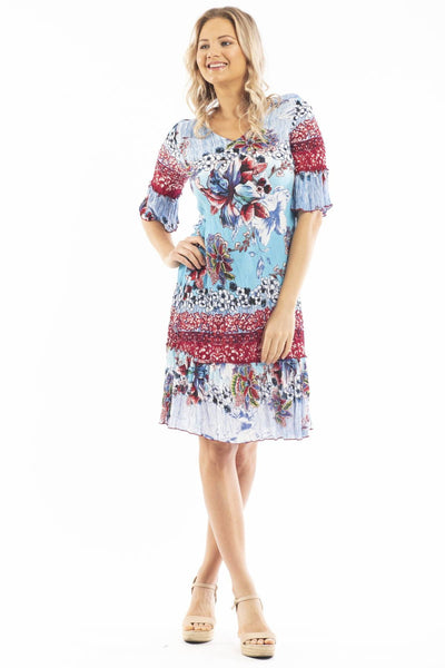 Flower Garden Tunic Dress