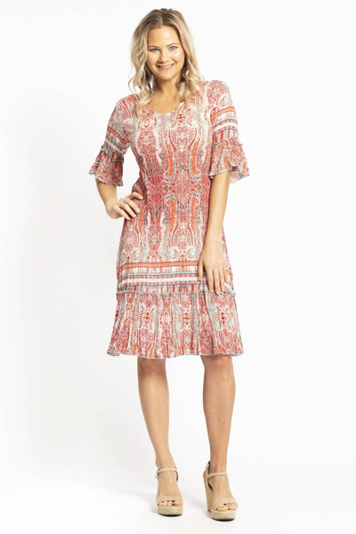 Peach Candy Long Tunic Dress