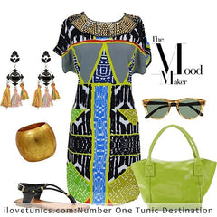 Egyptian Princess Tunic - at I Love Tunics @ www.ilovetunics.com = Number One! Tunics Destination