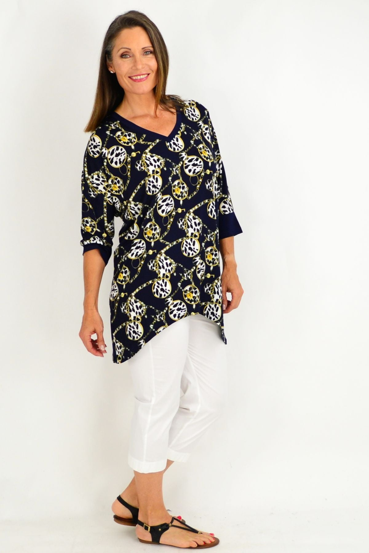 Lyra Chain Tunic | I Love Tunics | Tunic Tops | Tunic | Tunic Dresses  | womens clothing online