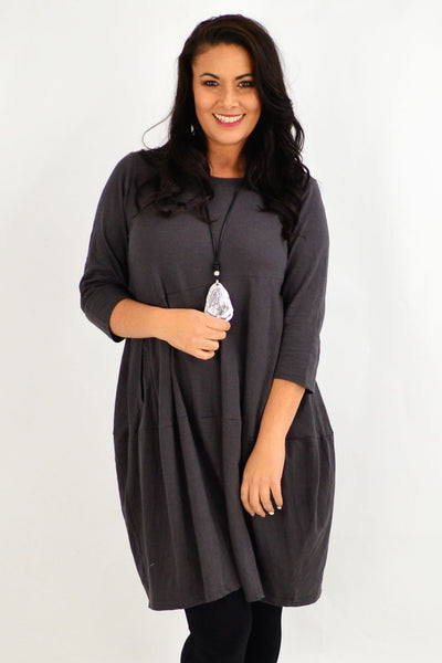 Bubble Grey Bounce Tunic Dress | I Love Tunics | Tunic Tops | Tunic | Tunic Dresses  | womens clothing online