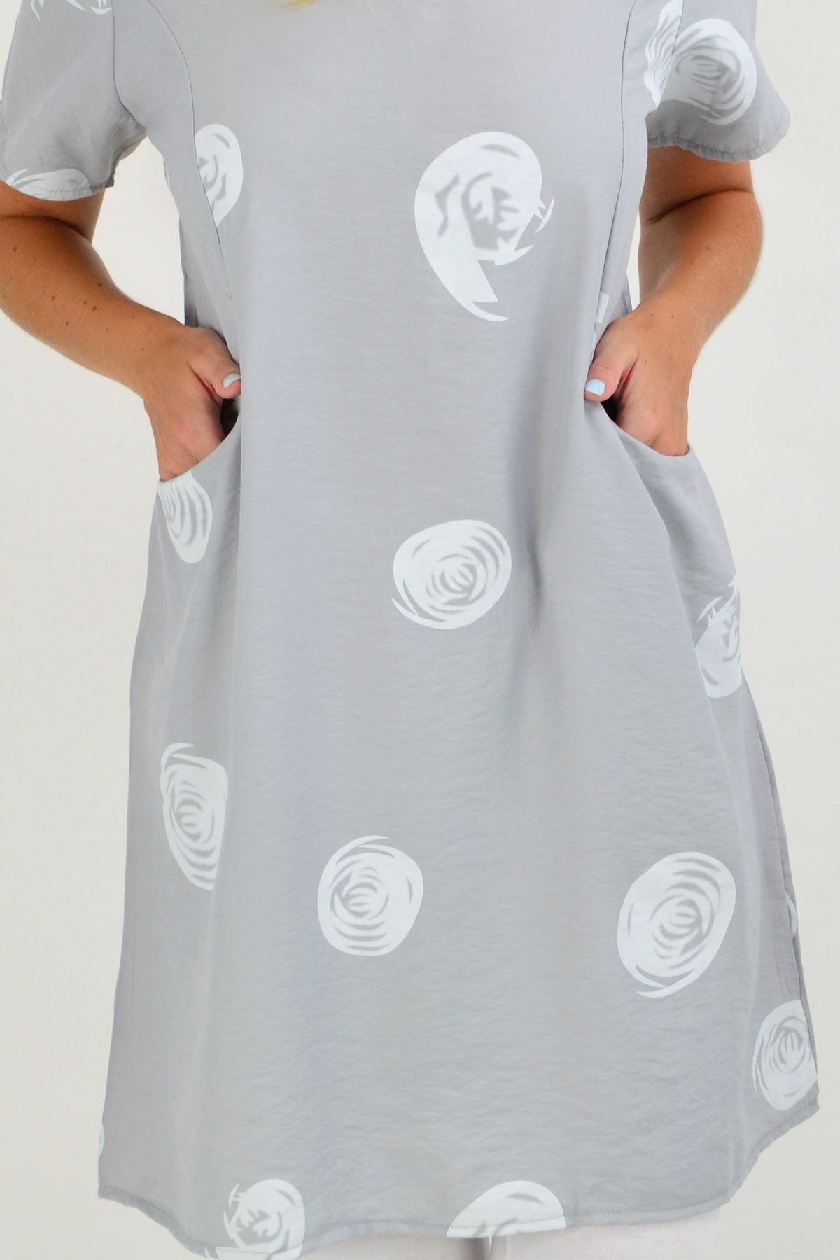 Grey Swirl Tunic Top | I Love Tunics | Tunic Tops | Tunic | Tunic Dresses  | womens clothing online