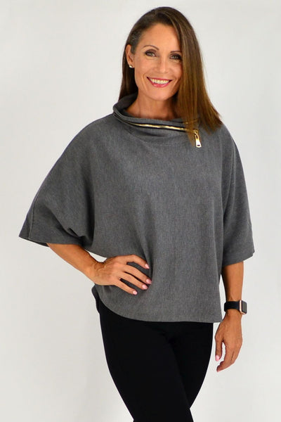 Grey Eve Relaxed Tunic Jumper | I Love Tunics | Tunic Tops | Tunic | Tunic Dresses  | womens clothing online