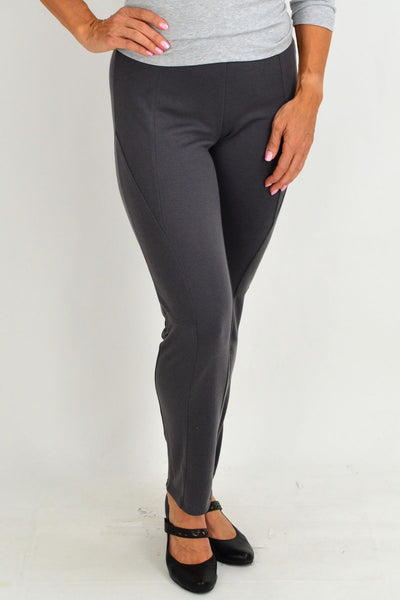 Grey Jodhpur Leggings