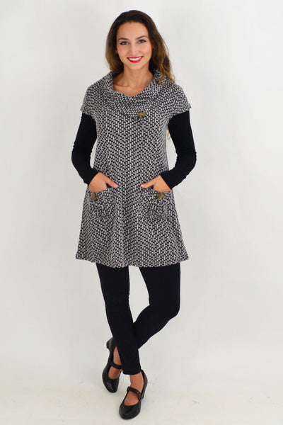 Grey Addison Winter Tunic Top