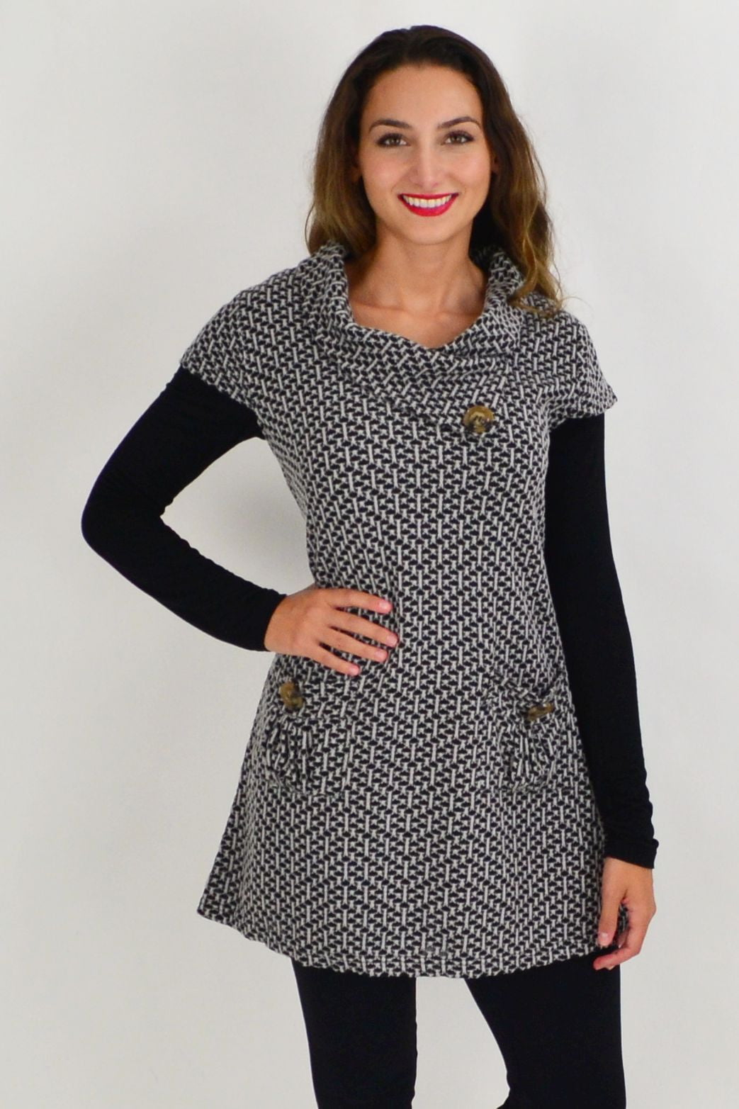 Grey Addison Winter Tunic Top | I Love Tunics | Tunic Tops | Tunic | Tunic Dresses  | womens clothing online