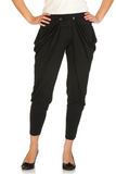 Black Harem Style Pants - at I Love Tunics @ www.ilovetunics.com = Number One! Tunics Destination