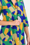 Patch Shirt Dress | I Love Tunics | Tunic Tops | Tunic | Tunic Dresses  | womens clothing online