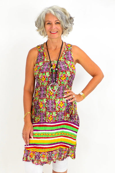 Less Monday Pocket Sleeveless Tunic