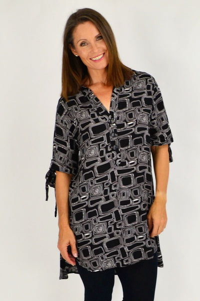 Amy Tunic Shirt | I Love Tunics | Tunic Tops | Tunic Dresses | Women's Tops | Plus Size Australia | Mature Fashion