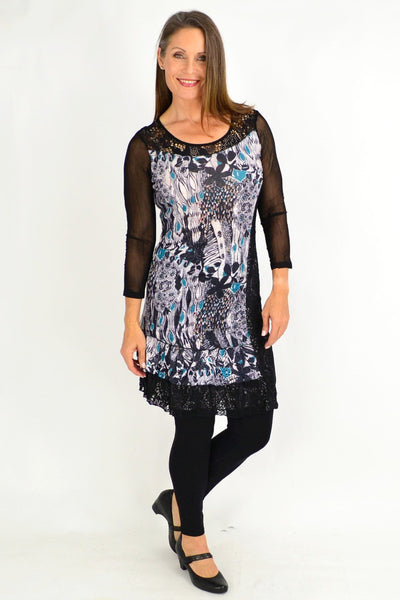 Kaylee Crinkle Tunic Dress