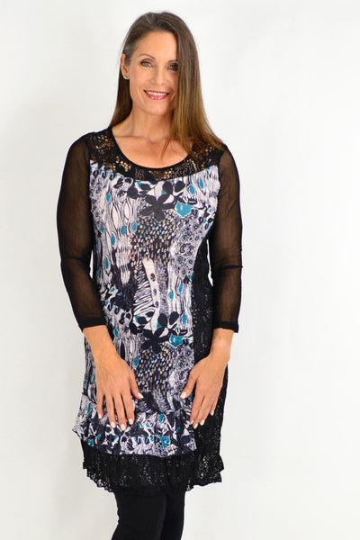 Kaylee Crinkle Tunic Dress | I Love Tunics | Tunic Tops | Tunic | Tunic Dresses  | womens clothing online
