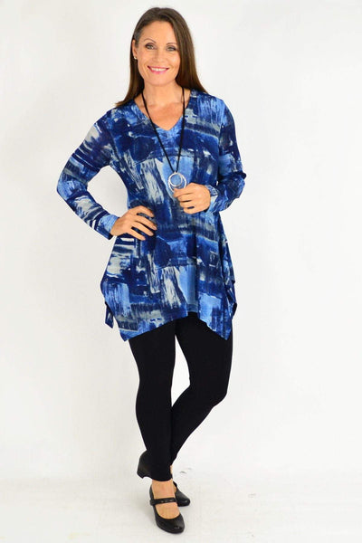 Blue Nova Tunic Top