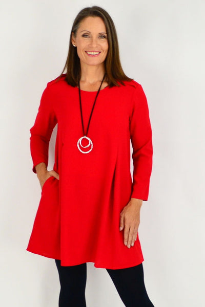 winter fleece tunic top