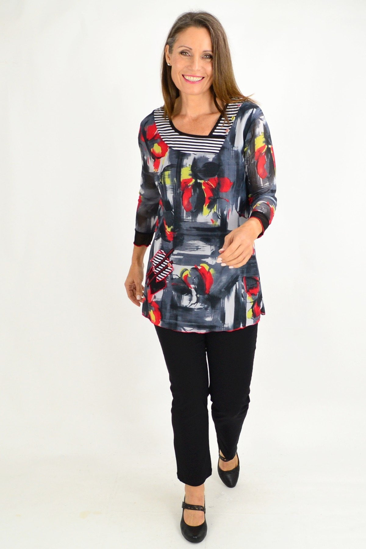 Rosemary floral Tunic Top | I Love Tunics | Tunic Tops | Tunic | Tunic Dresses  | womens clothing online