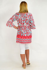 Peach Can Tunic Top Caftan | I Love Tunics | Tunic Tops | Tunic | Tunic Dresses  | womens clothing online