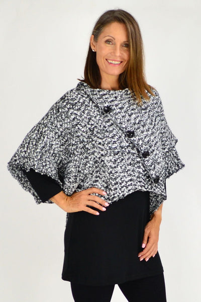 short poncho - i love tunics