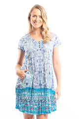 Crinkle Ocean Wave Tunic Dress | I Love Tunics | Tunic Tops | Tunic | Tunic Dresses  | womens clothing online