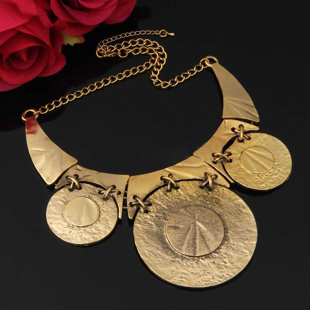 Golden disks necklace | I Love Tunics | Tunic Tops | Tunic | Tunic Dresses  | womens clothing online