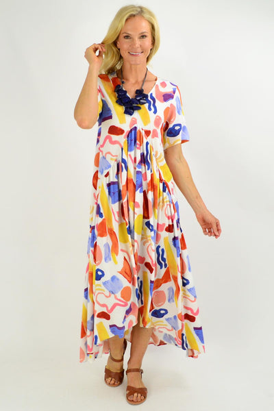 Artist Stock Maxi Tunic Dress
