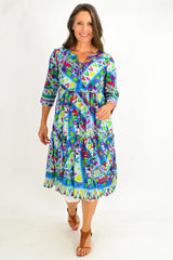 Mexican Festival Tunic Dress | I Love Tunics | Tunic Tops | Tunic | Tunic Dresses  | womens clothing online