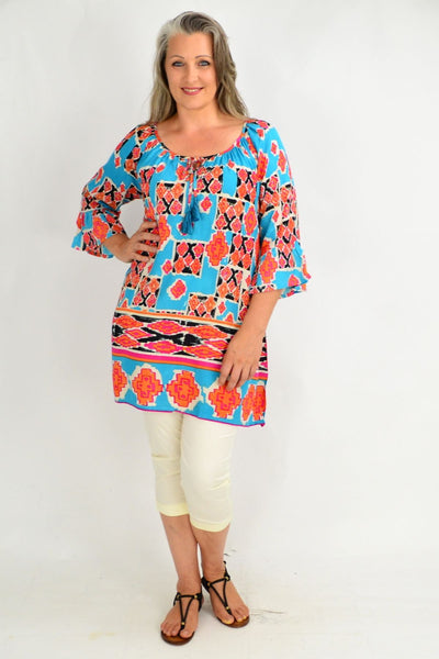 Peruvian Tunic Top Caftan