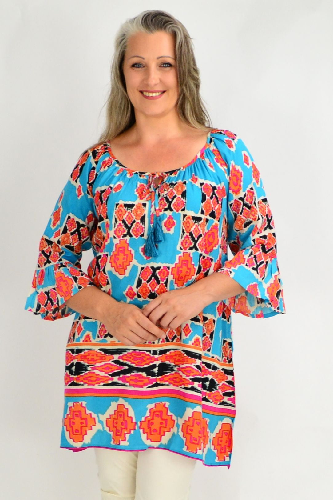 Peruvian Tunic Top Caftan | I Love Tunics | Tunic Tops | Tunic | Tunic Dresses  | womens clothing online