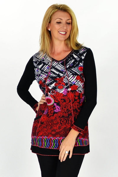 Nora Tunic - at I Love Tunics @ www.ilovetunics.com = Number One! Tunics Destination