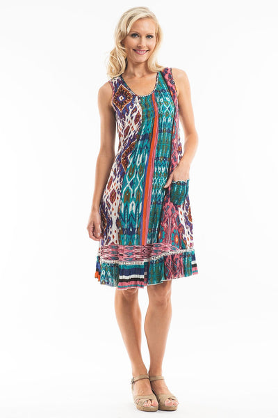 Moroccan Sleeveless Tunic