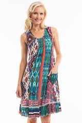 Moroccan Sleeveless Tunic - at I Love Tunics @ www.ilovetunics.com = Number One! Tunics Destination